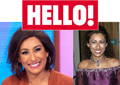 Loose Women's Saira Khan shows off incredible new teeth